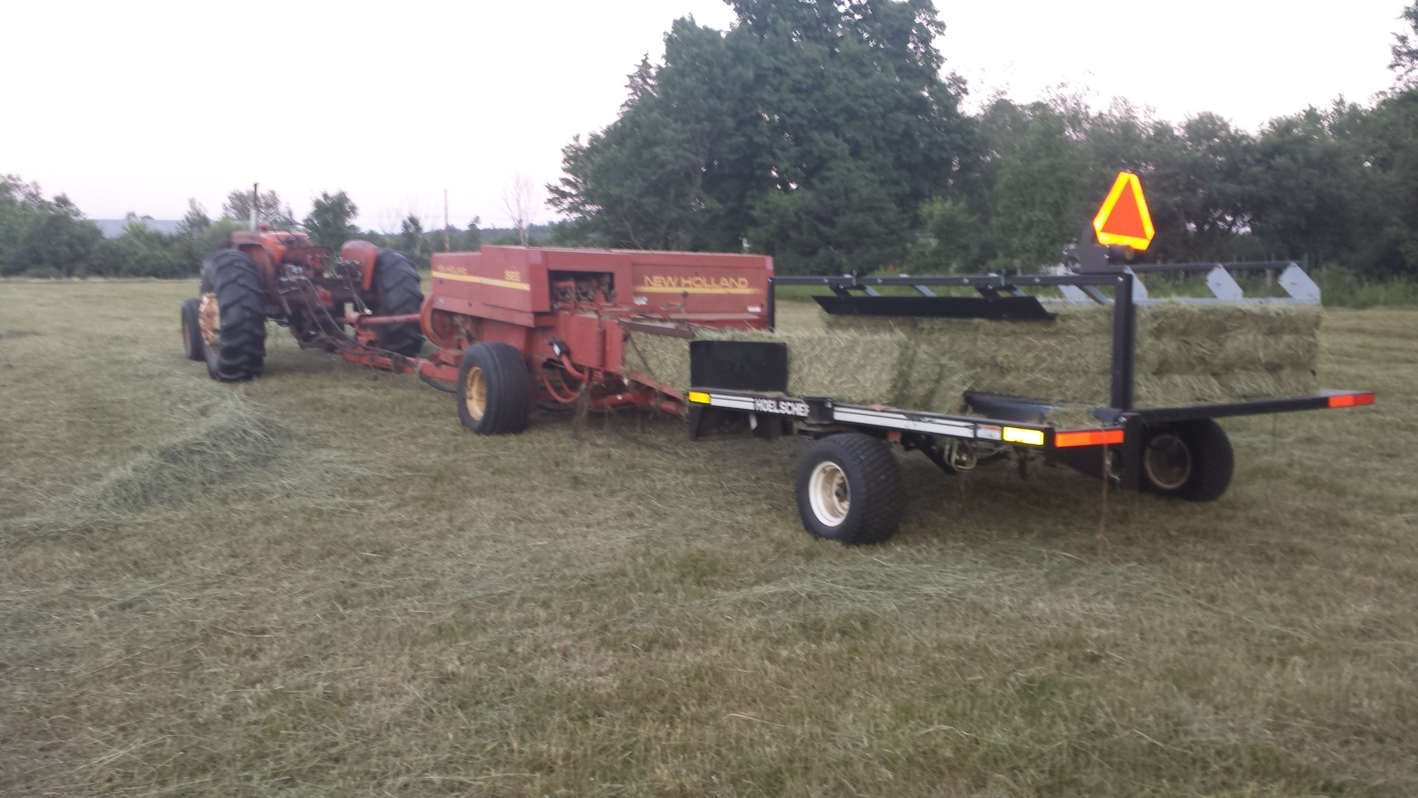 Allis chalmers d17 tractor - For Sale - Drive On Wood!