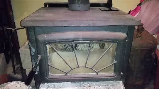Stove at rest
