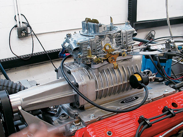 supercharged_350ci_chevy-shortblock_with_blower