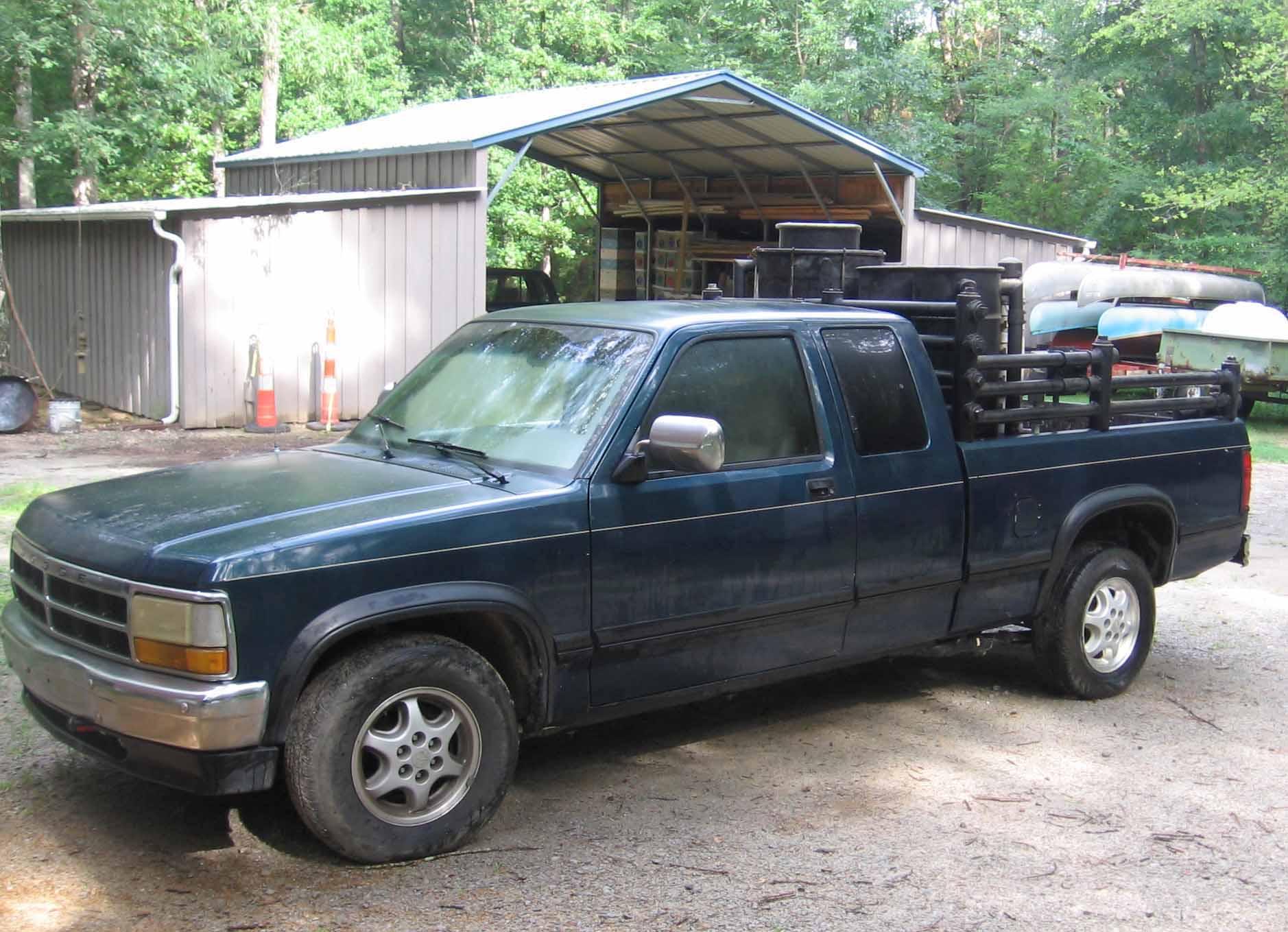 Sold 1995 Dodge Dakota For Sale Drive On Wood